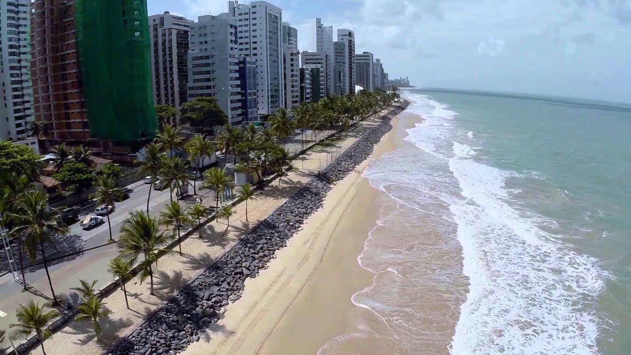 Bar Cerveja Artesanal Zona Norte Sp ~ Voando FPV Praia de Boa Viagem Recife Filmagem Aérea YouTube