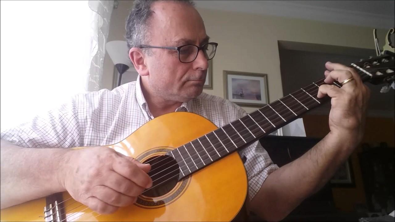 Sunrise Sunset Jerry Bock Sheldon Harnick Fingerstyle Guitar