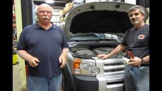 Replacing The Hood Alarm Switch On Land Rover Vehicles video screen shot