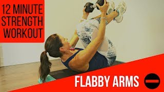 12 MINUTE STRENGTH WORKOUT - SAY YES TO BETTER ARMS!
