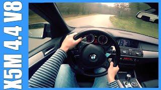 POV BMW X5M 4.4 V8 VERY FAST! OnBoard Acceleration