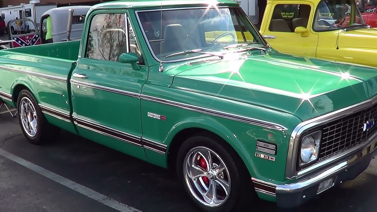 1972 Chevy Pick Up Street Rod - YouTube