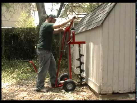 Earth Drill Best Post Hole Digger Ever Youtube