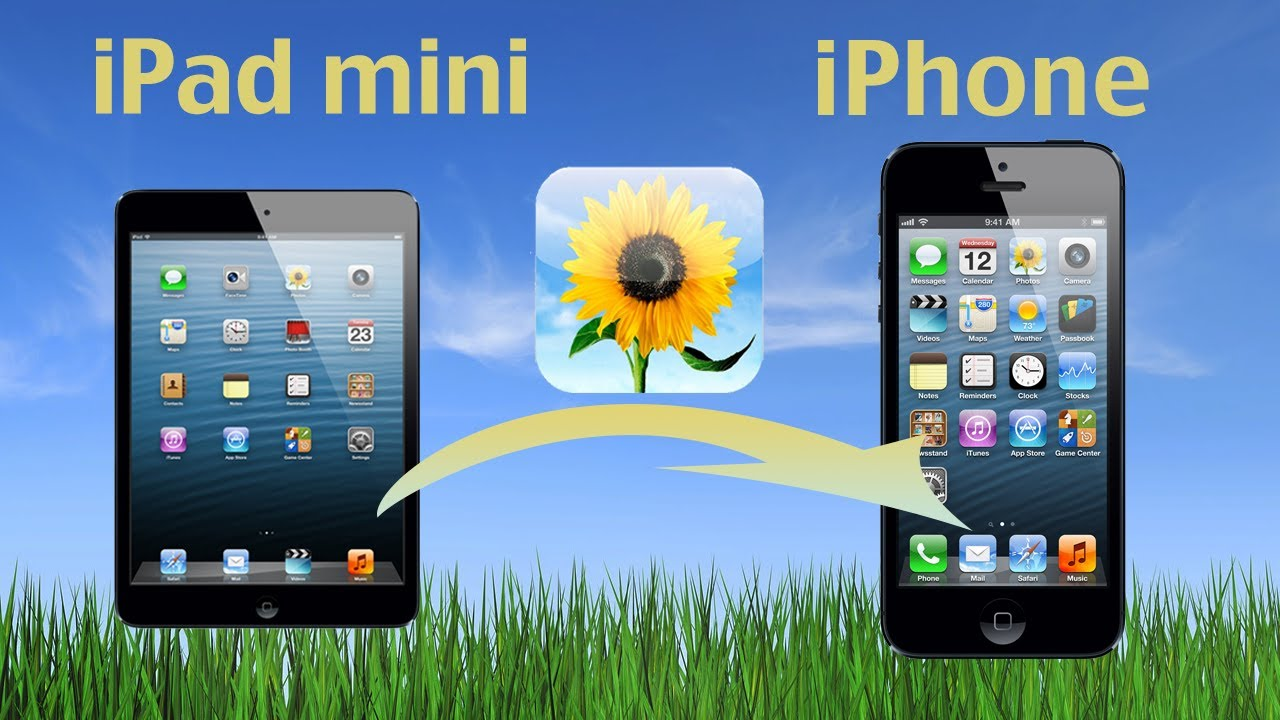 How to transfer photos from iphone to ipad mini