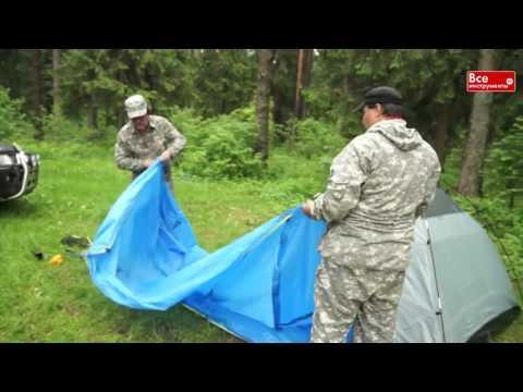 Обзор недорогой четырехместной палатки Аляска Дом 4