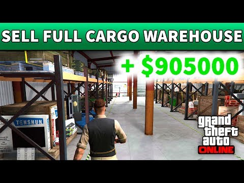 GTA 5 Selling Full Medium Warehouse Solo | HOW TO SELL SPECIAL CARGO WAREHOUSE IN GTA 5 ONLINE