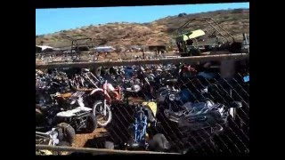 1/2 million motorcycle bikes rare graveyard in Rye AZ.