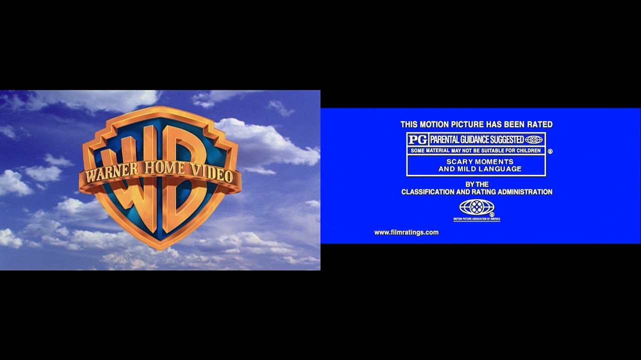 Warner Home Video/MPAA Rated PG (2001/2002) (60fps) - YouTube