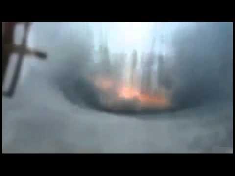 Съемка Северного Полюса со станции МКС