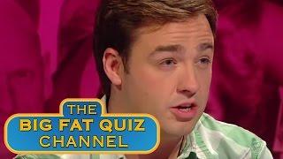 Jason Manford Struggles to use Siri - Big Fat Quiz Of The 80's