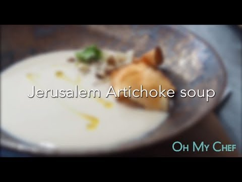 Jerusalem Artichoke Soup Youtube