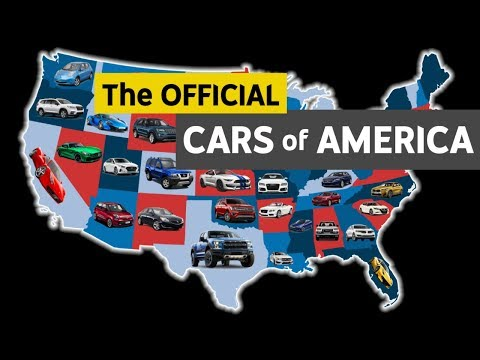 Most Popular Cars In Every US State! Mp3
