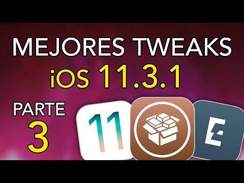 TOP 10 MEJORES TWEAKS para iOS 11.3.1 (Parte 3)
