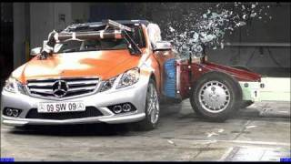 New Crash Test Mercedes E-Class Convertible 2010