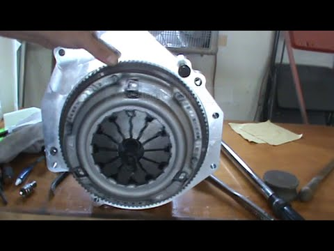 Final Motor Assembly Of All Adaptors  My Civic EV Electric Car Project Part 26