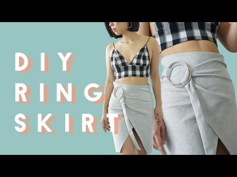 ✂ DIY Hoop/O Ring Skirt with Q2HAN