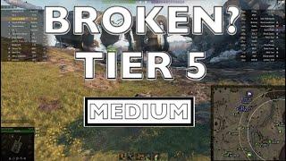 WOT - Most Broken Tier 5 Medium | World of Tanks