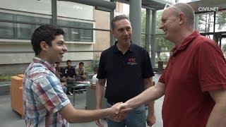 Թիմը գնում է Վանաձորի տեխնոլոգիական կենտրոն | Straight to the Vanadzor Technology Center