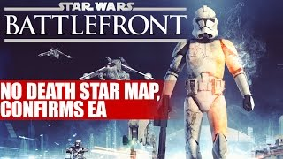 Star Wars Battlefront | EA Confirms No Death Star Map & Info On Star Destroyers