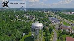 Main St Massena NY Aerial Tour