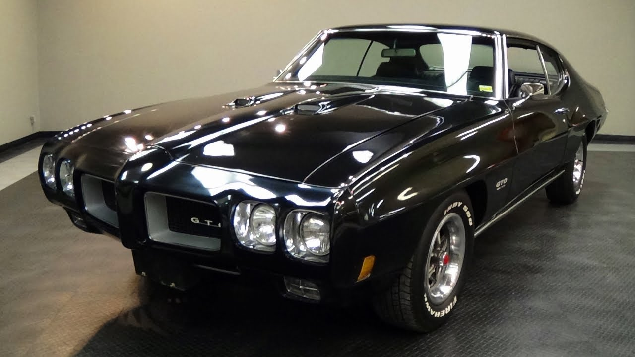 Pontiac Gto Muscle Car Youtube