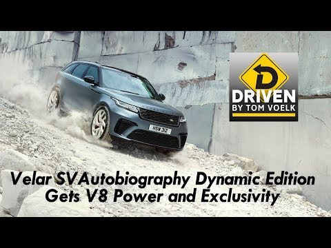 Land Rover Velar SVAutobiography Dynamic Edition Preview