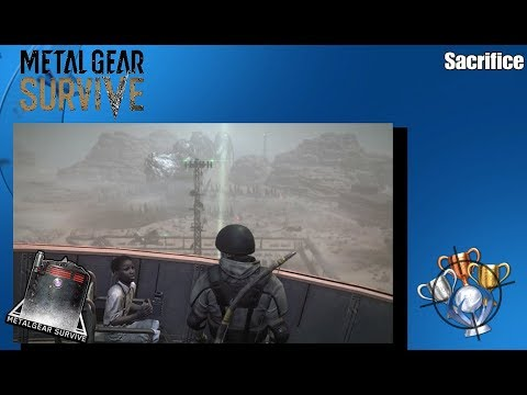 Metal Gear Survive - Sacrifice - Trophy/Achievement Guide (PS4)