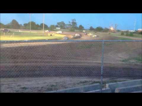 Dawson County Raceway 6/15/14 IMCA Stock Cars