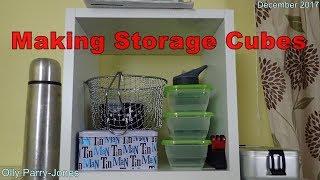 Making Storage Cubes
