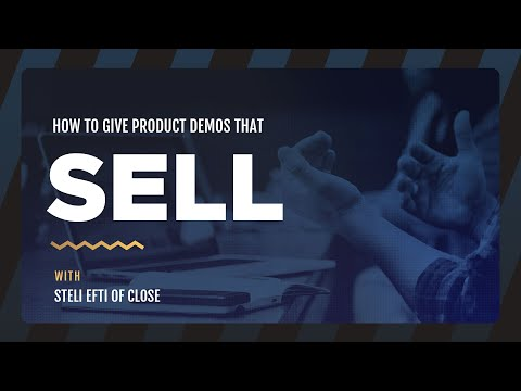 How to give product demos that sell [webinar]