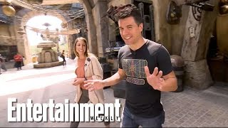 Tour 'Star Wars: Galaxy's Edge' At Disneyland Park | Entertainment Weekly