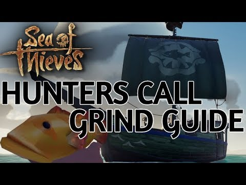 Hunters Call Grind Guide (Level 50) | Sea Of Thieves [Mermaid Gems, Fishing And Cooking]