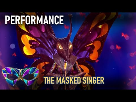 Butterfly Sings You ve Got The Love Who Is Behind The Mask The Masked Singer UK YouTube