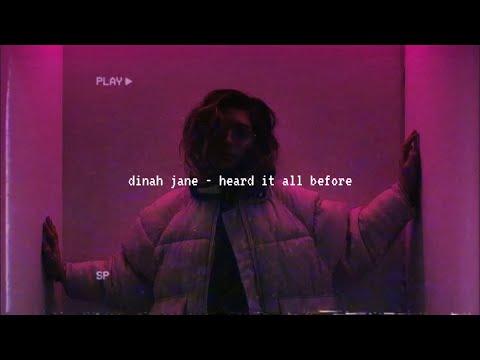 dinah jane - heard it all before (slowed down)༄