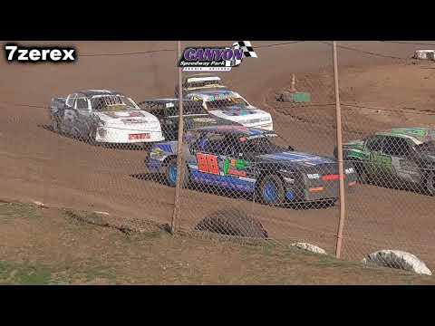 IMCA Stock Cars Heat 2 Canyon Speedway Park 1-26-2020