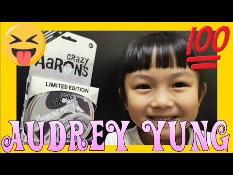 Crazy Aaron's Thinking Putty Limited Edition HOWL unpack with Audrey Yung (02235)