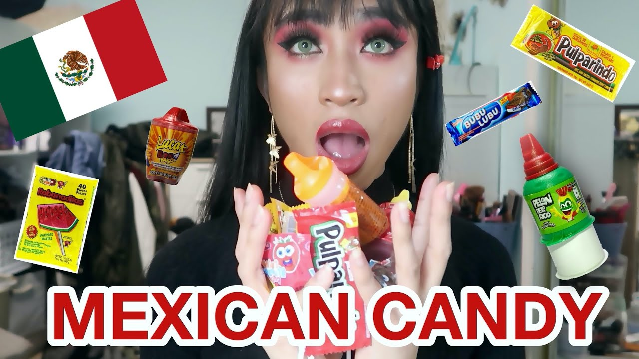 First Time Trying Mexican Candy!