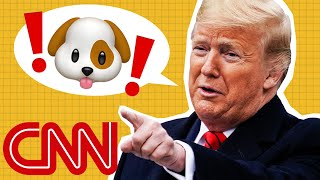 Trump keeps 'barking' this at his enemies
