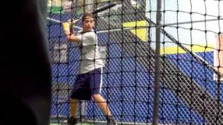 Daniel in cages at age 12,wow look how little he was and how his voice sounded