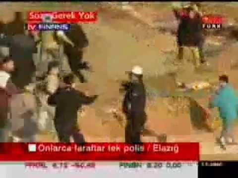 1 TÜRK POLİSİ 1000 PKKLIYA NASIL DAYAK ATIYOR İŞTE YÜREGİN VDEOSU