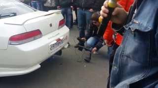 Самый громкий выхлоп Омск 25.05.2013