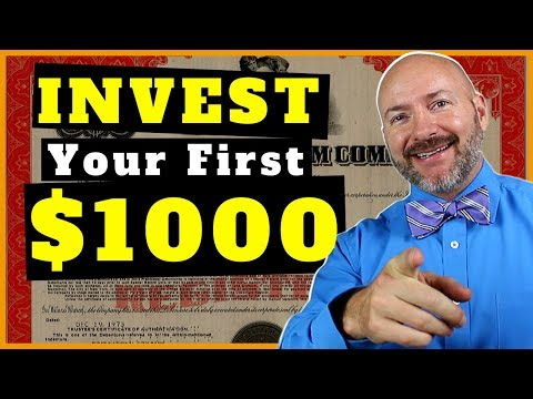 How To INVEST $1000 Dollars In STOCKS Right Now