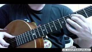 Nick Jonas Give love a try видео урок гитара