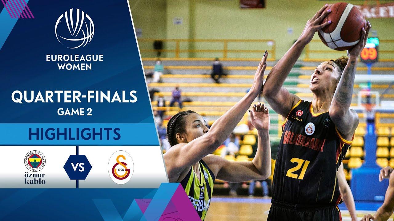 Fenerbahce Oznur Kablo - Galatasaray | Highlights - Quarter-Finals (G2)