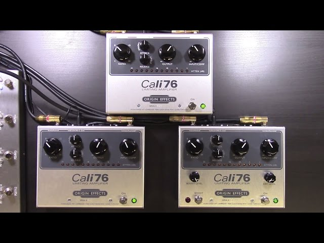 Origin Effects Cali76 Review (STD, TX, TX-LP) - BestGuitarEffects.com