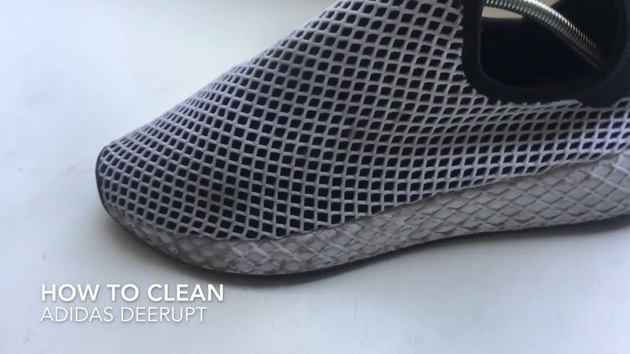 new style 6743e 81424 How To Clean Adidas DEERUPT - YouTube