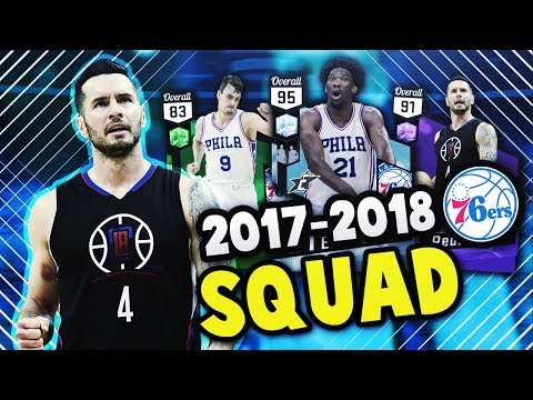 2018 SIXERS WITH J.J. REDICK!! | DIAMOND EMBIID IS INSANE!! | NBA 2K17 MyTEAM SQUAD BUILDER