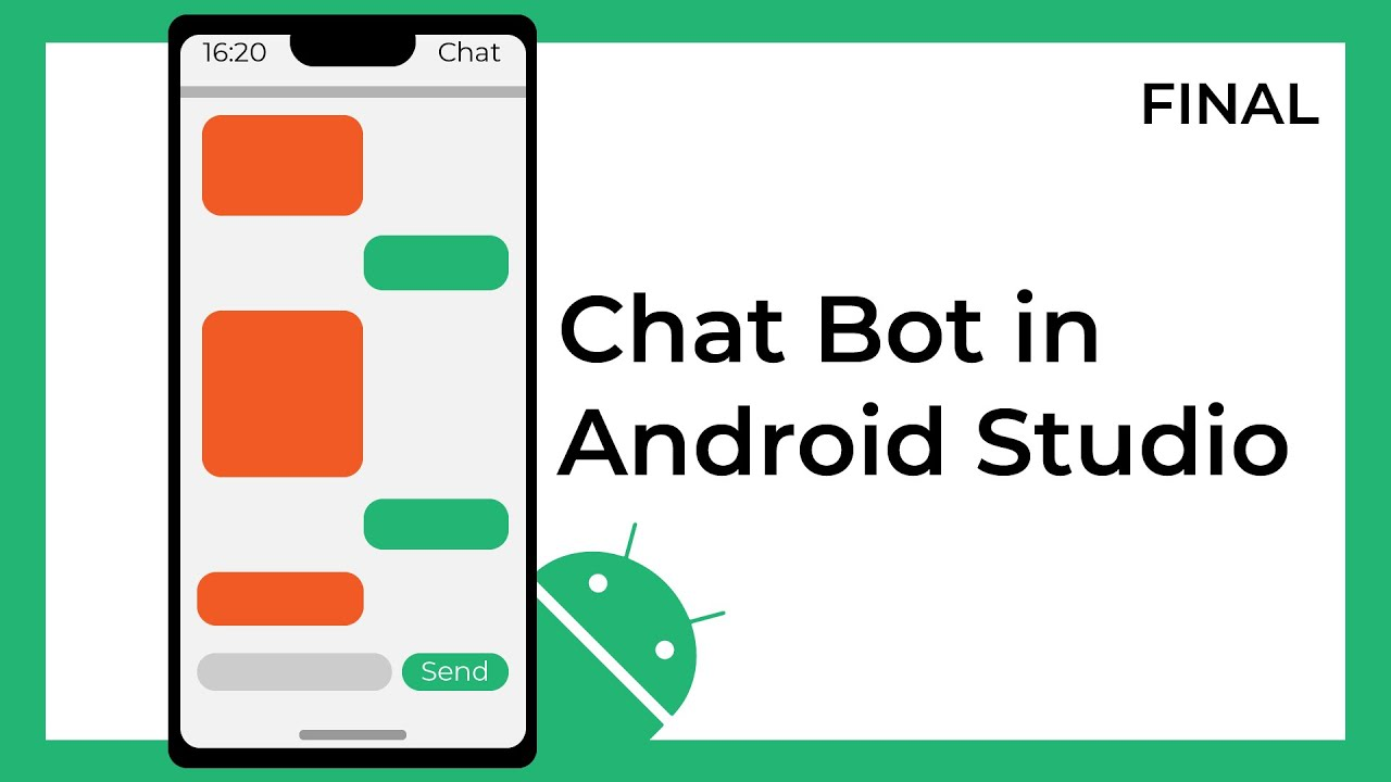Creating a Chat Bot app in Android Studio using Kotlin (FINAL)