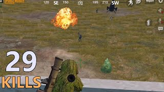 DESTROY HELICOPTER | 29 KILLS PAYLOAD MODE | PUBG MOBILE