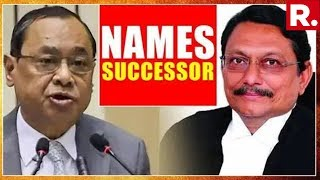 Chief Justice Of India Ranjan Gogoi Recommends Justice SA Bobde As His Successor